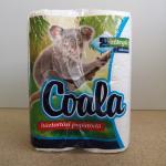 Kéztörlőpapír Coala 2 rtg. 2 tek/csomag 45 lap/tek