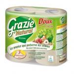 Kistekercses toalettpapír Grazie Natural (3 rétegű/4x270 lap)