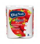 Konyhai kéztörlőpapír Big Soft Gigant 2 rtg. 2 tek/csom