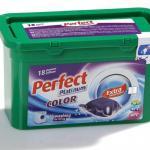 Perfect Platinum Color 24 g. kapszulás folyékony mosószer 18 darabos