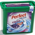 Perfect Platinum Color 24 g. kapszulás folyékony mosószer 28 darabos