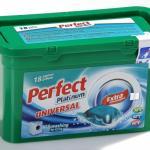 Perfect Platinum Universal 24 g. kapszulás folyékony mosószer 18 darabos
