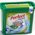 Perfect Platinum White 24 g. kapszulás folyékony mosószer 28 darabos