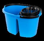 Pro kamrás gurulós kék vödör, facsaróval 16 literes