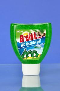 Brekkk WC gél zöld ( fenyő illat) utántöltő 200 ml