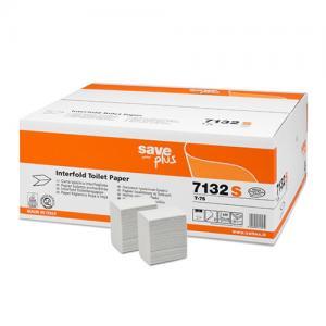 Celtex Save Plus hajtogatott toalettpapír recy 2 rtg. 11x18 cm 36x250 lap