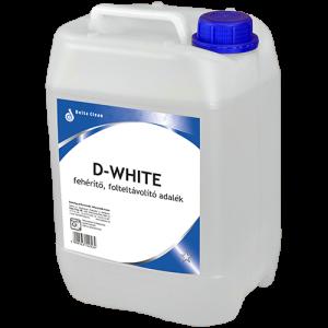 D-White fehérítő és folteltávolító adalék 5 liter