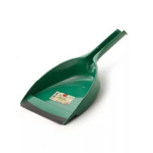 Fass Natural Green szemetes lapát gumi éllel zöld, nyélre rögzíthető