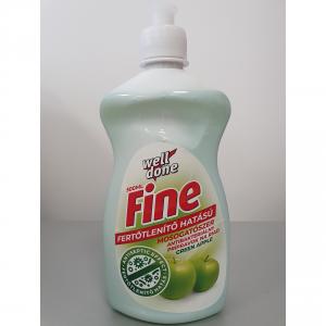 Fine Fertőtlenítő mosogatószer Green Apple 500 ml.