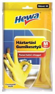 HEWA gumikesztyű háztartási M méret