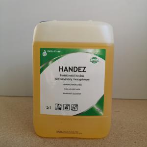 Handez fertőtlenítő hatású kézi mosogatószer 5 literes