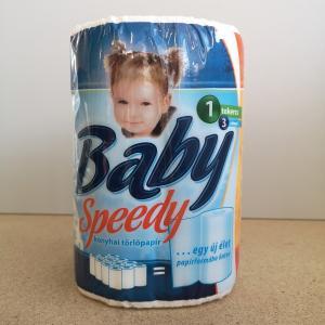 Kéztörlőpapír Baby Speedy 3 rtg. 100 lap/tek/csomag