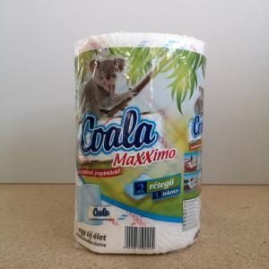 Kéztörlőpapír Coala Maxximo 2 rtg. 1 tek/csom 100 lap/tek.