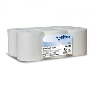 Kéztörlőpapír Master Celtex 130 cell. 2réteg 130m 19cm átm. 21cm szél. 6tek/zsugor