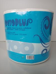 Kéztörlőpapír tekercses 700 lapszám 100 cell. 2 rtg. 147 méter/tekercs