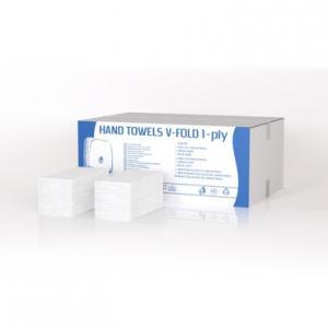 Kéztörlőpapír V hajt. 80 % fehérség1 rtg. 25x20cm/lap 5000lap/krtn.