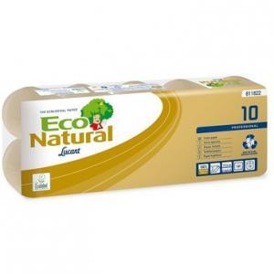 Kistekercses toalettpapír Eco Natural 10 (2 rétegű/10x180 lap)
