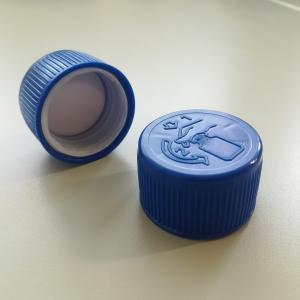 Kupak 1 L-es flakonhoz, DIN-csavarmenet, kék szín