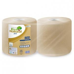 Lucart ECO Natural ipari törlő 2 réteg 25x25cm/lap 800 lap 200m 2 tekercs/zs