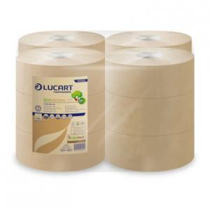 Lucart Eco natural mini toalettpapír 2 rtg 19 cm 150 m 12tek/zsug