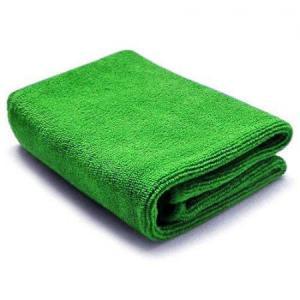 Mikroszálas törlőkendő 32x32 cm 300g/m2 zöld