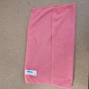 """Mikroszálas törlőkendő """"alap"""" piros, 35 x 32 cm, 270 g/qm"""