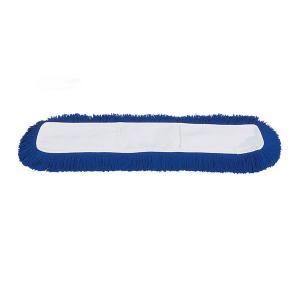 Mop huzat akril, 40 cm kék