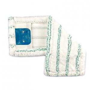 Mop mikroszálas 40 cm zsebes-füles, zöld dörzscsíkokkal