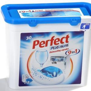 Perfect Platinum 9 in1 Mosogatógép kapszula 20 g. 30 darab