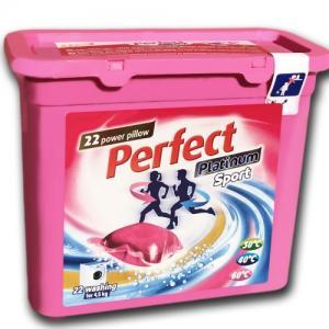Perfect Platinum Sport 24 g. kapszulás folyékony mosószer 22 darabos