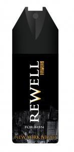 Rewell for men New York night dezodor 150 ml.