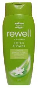 "Rewell sampon Lotus flower ""zsiros hajra"" 300 ml."
