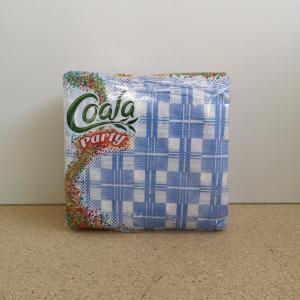Szalvéta Coala Party kockás 1 rtg. 33x33 cm méret/lap 80 db/csomag