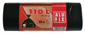 Szemeteszsák 110 l/10 db./tekercs Alufix