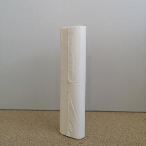 Szemeteszsák fehér 35x45 12 mikron 10 liter/20db/roll