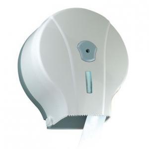 Toalettpapír adagoló Mini jumbo ABS,ablakos, Vialli, fehér