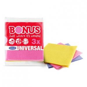 Univerzális törlőkendő 3 darabos 36x36cm Bonus